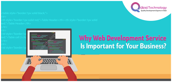 Web Development Service Is Important For Business Growth Qdexi