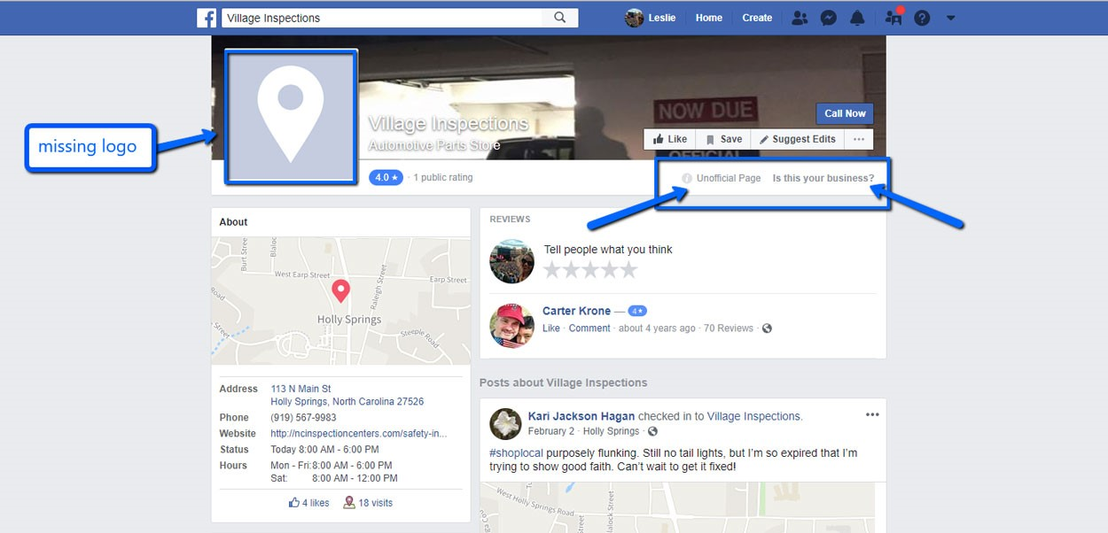 Duplicate Facebook Pages