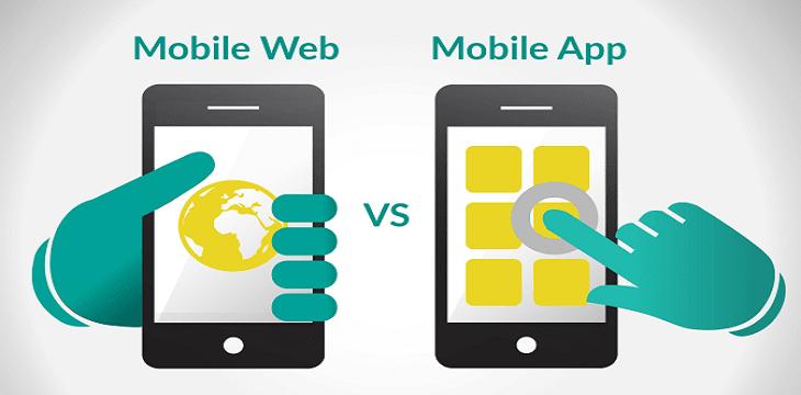 mobile application development vs mobile website development