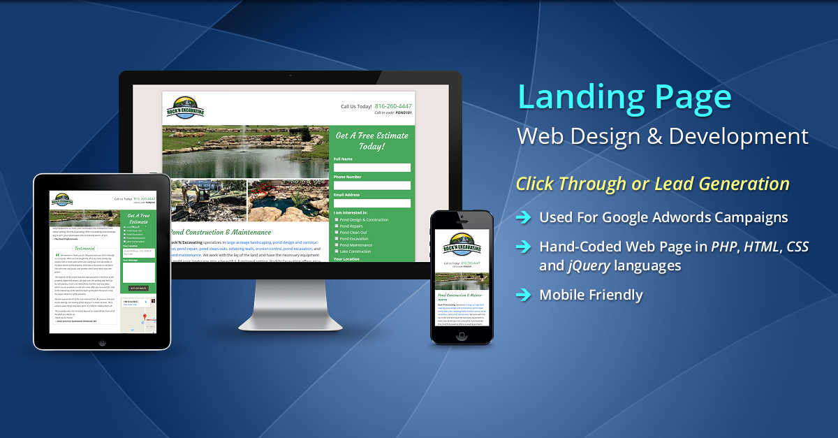 Landing pages are Long Term SEO assets