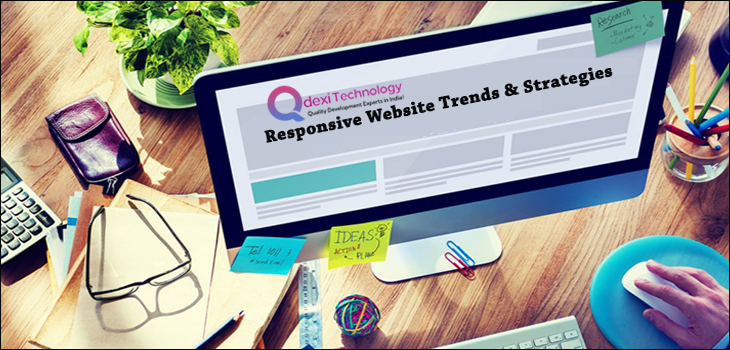 Responsive web design and trends