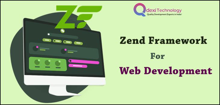 Zend framework for web development