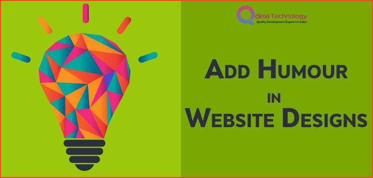Add Humour in Website Designs