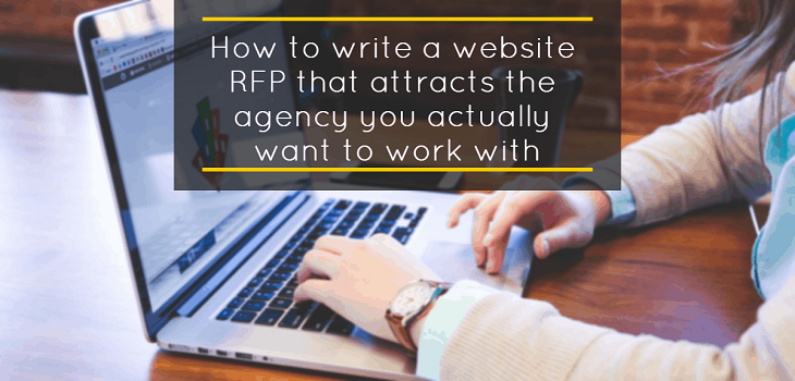Write a website RFP