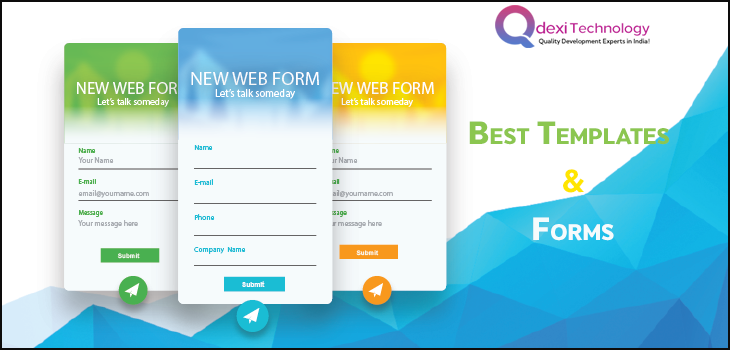 Web Form Design: Best Templates and Themes | Web Designing