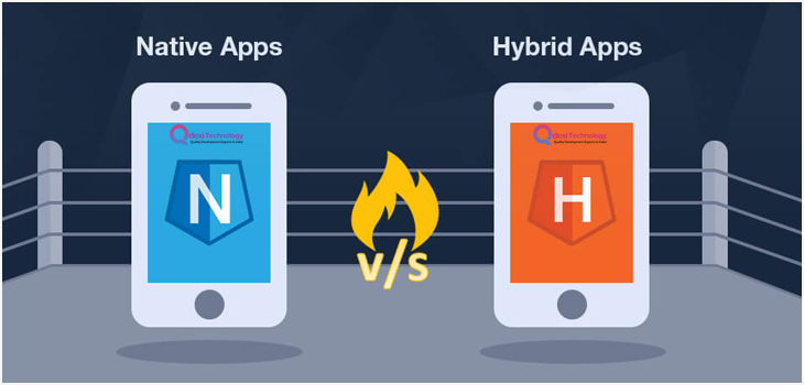native app vs hybrid apps