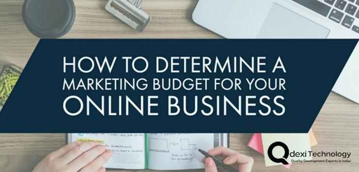 Determine Marketing Budget For Online Business