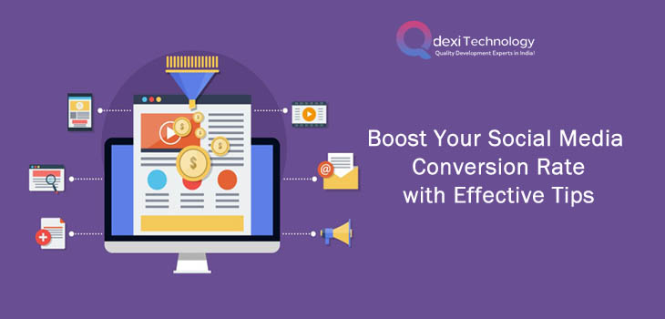 social media conversion rate with effective tips
