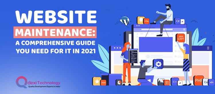 Website-Maintenance